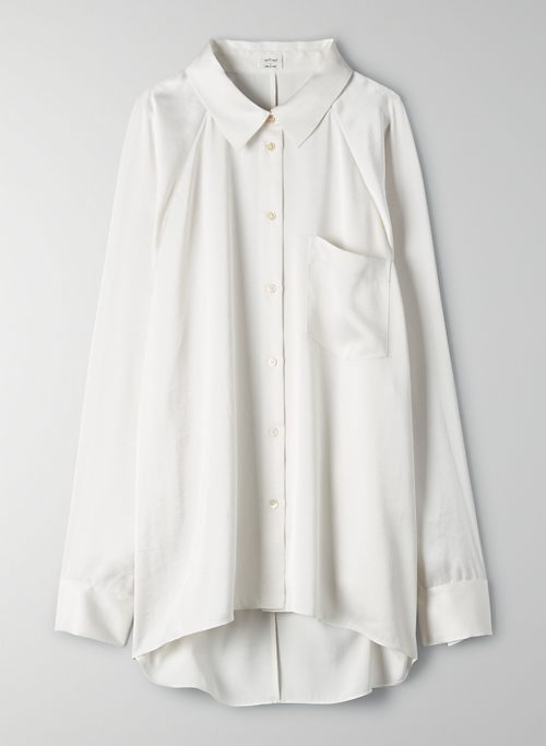 RELAXED BUTTON-UP | Aritzia