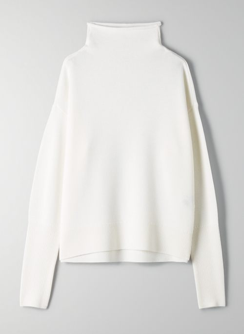 CYPRIE TURTLENECK - Mock-neck wool sweater