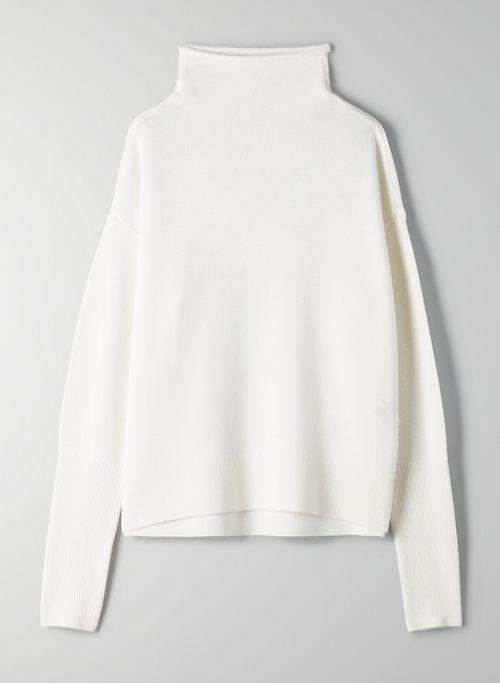 CYPRIE SWEATER - Mock-neck wool sweater
