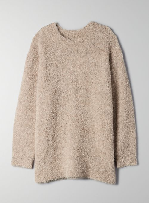 SEISSAN SWEATER - Oversized wool sweater