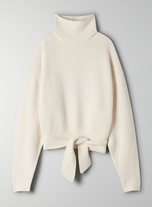 LORIN SWEATER - Alpaca-blend turtleneck sweater