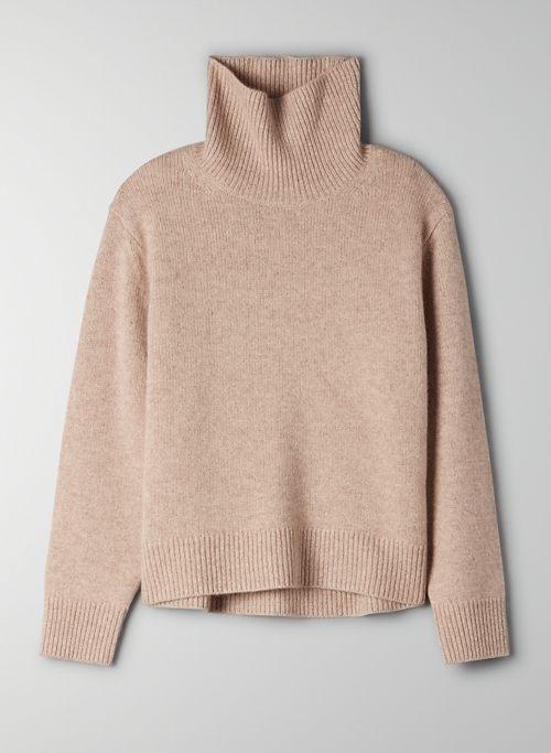 JARA CASHMERE SWEATER - Cashmere turtleneck sweater