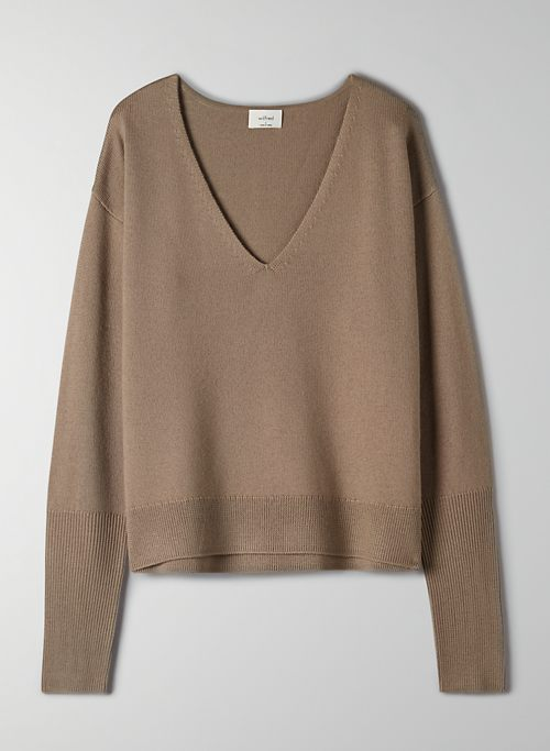 CYPRIE V-NECK SWEATER