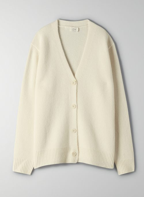 PARCO CASHMERE CARDIGAN - V-neck cashmere cardigan