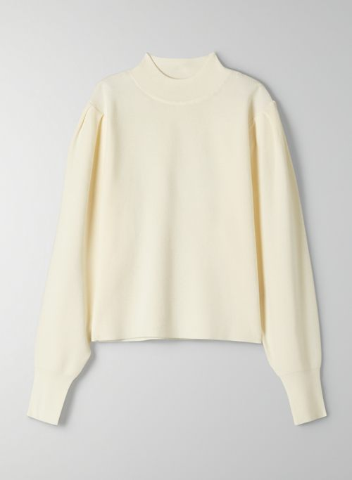 PINOT SWEATER - Puff-sleeve sweater