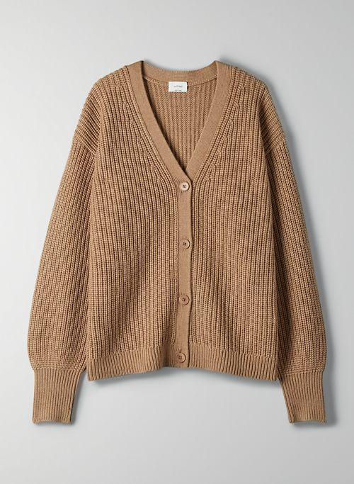 CORTADO CARDIGAN - Oversized knit cardigan