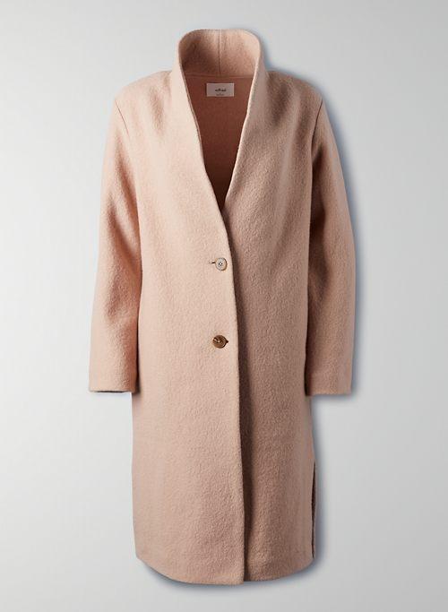 DUJARDIN JACKET - Long wool cardigan jacket