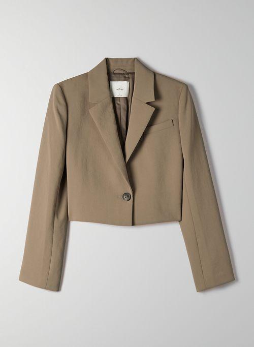 LA PAZ BLAZER - Cropped single-breasted blazer