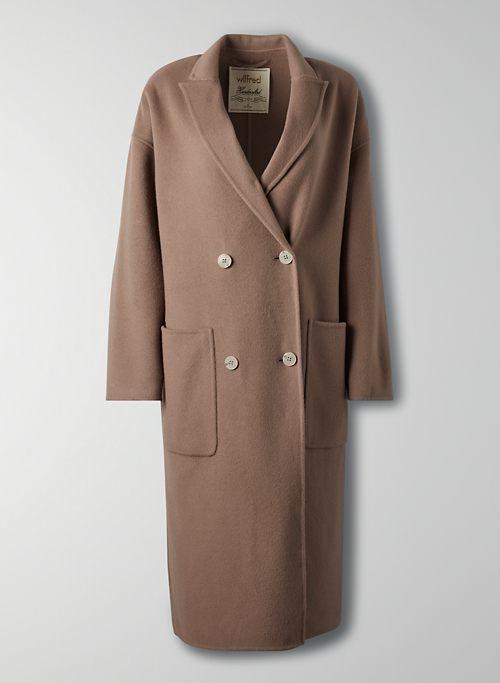 BELLEVUE COAT - Double-breasted wool coat