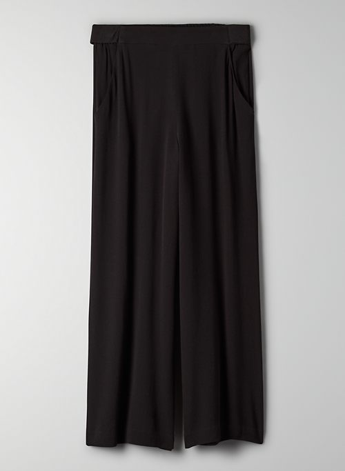 FAUN PANT - High-waisted wide-leg pants