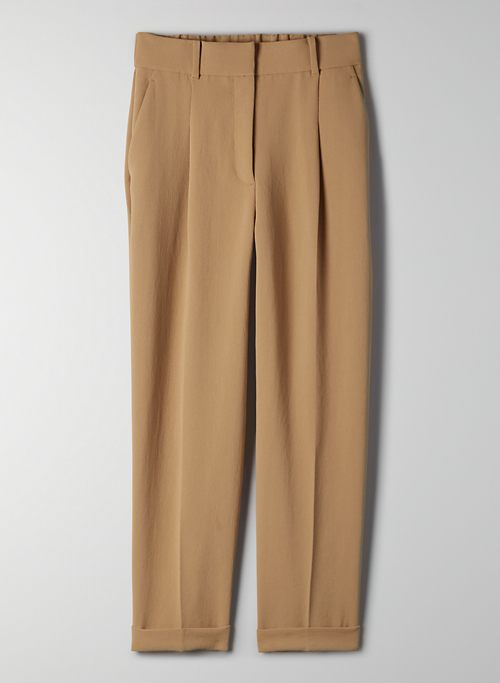 DASHWOOD PANT - High-waisted pleated trouser