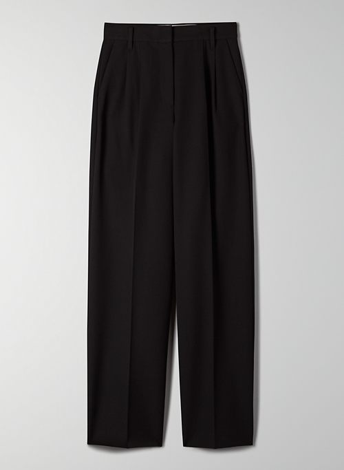 SANTOS PANT - High-waisted pleated trouser