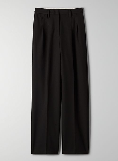 NASSAU PANT - High-waisted pleated dress pants