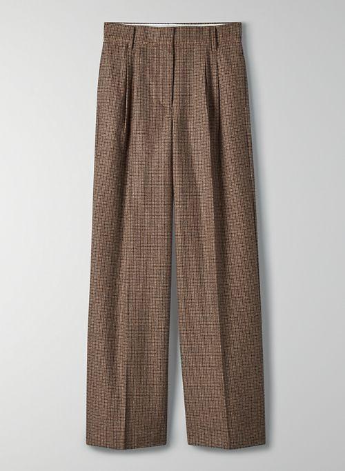 ORSAY PANT - High-waisted, straight-leg trouser