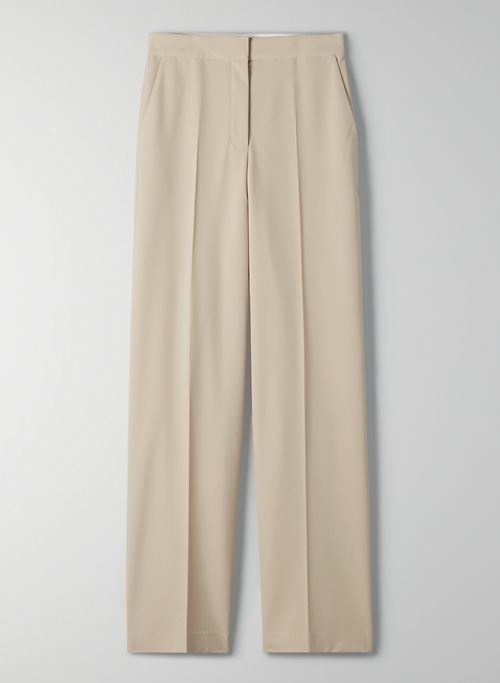 TOLEDO PANT - High-waisted wide-leg pant