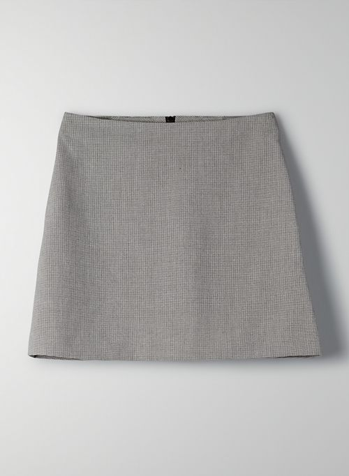 NEW CLASSIC MINI SKIRT - Plaid A-line mini-skirt