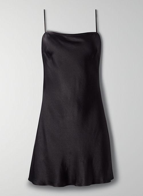 ALTO DRESS - Mini satin slip dress