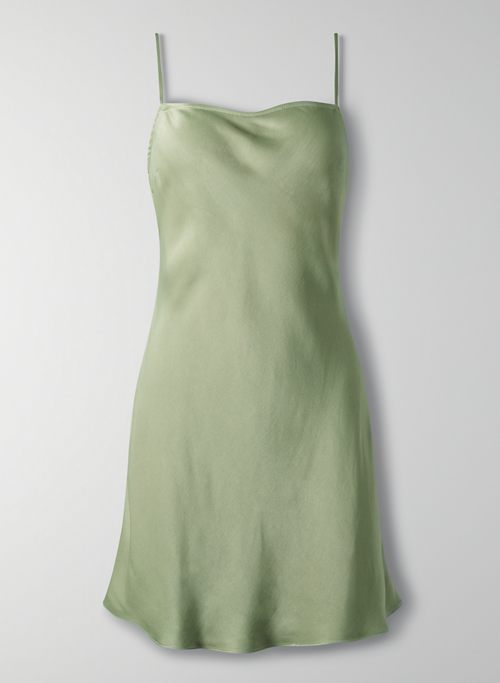ALTO DRESS - Mini satin slip dress