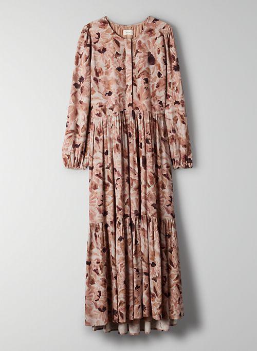 BAROSSA MAXI DRESS - Flowy tiered maxi dress