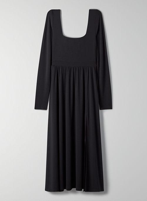 MARKET LONGSLEEVE SLIT DRESS