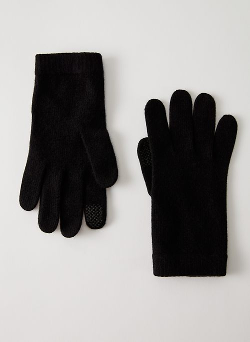 CASHMERE TECH GLOVES | Aritzia