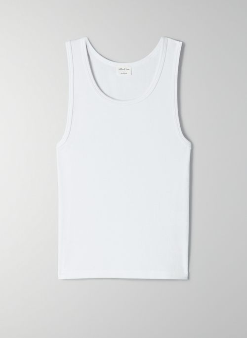 MERIDIAN TANK - Ribbed tank top
