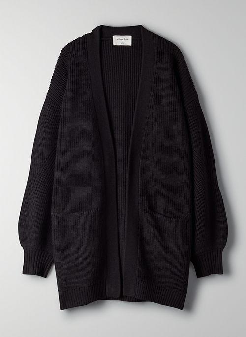 UNWIND CARDIGAN - Oversized, open-front cardigan