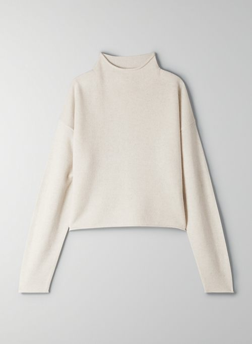 CUSP TURTLENECK - Mock-neck cashmere sweater