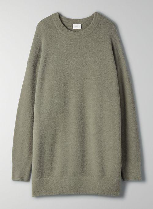 LEEDS SWEATER - Oversized crewneck sweater