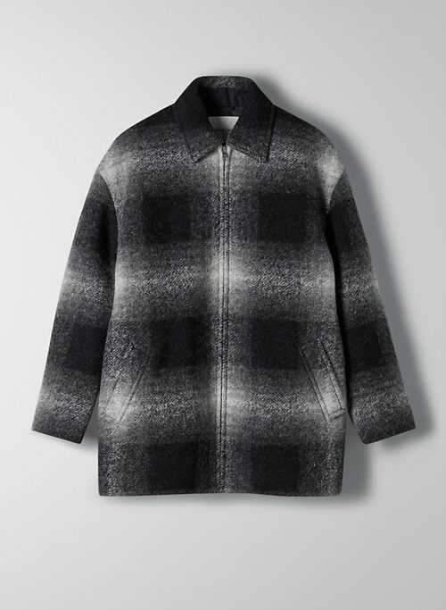 LYON JACKET - Oversized plaid jacket