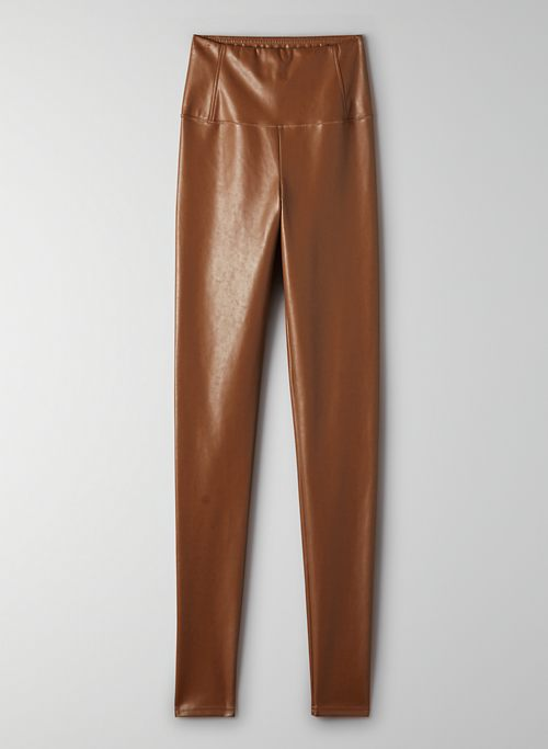 DARIA PANT - High-waisted Vegan Leather legging