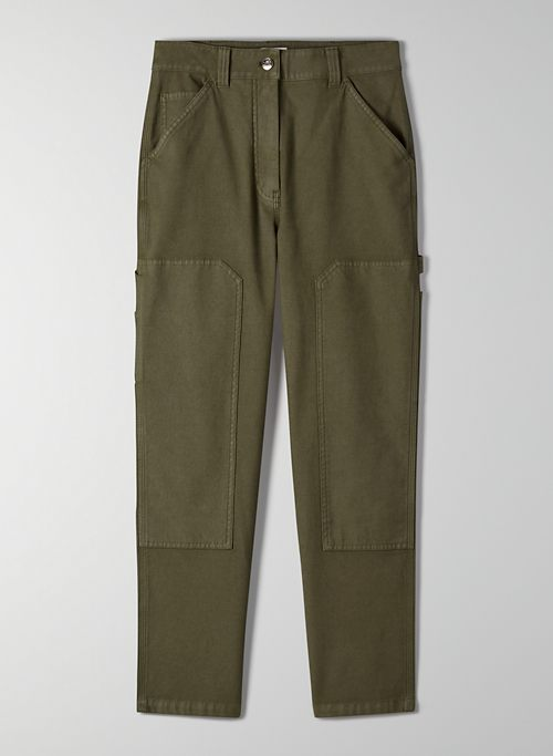 BRENNAN PANT - High-waisted workwear pants