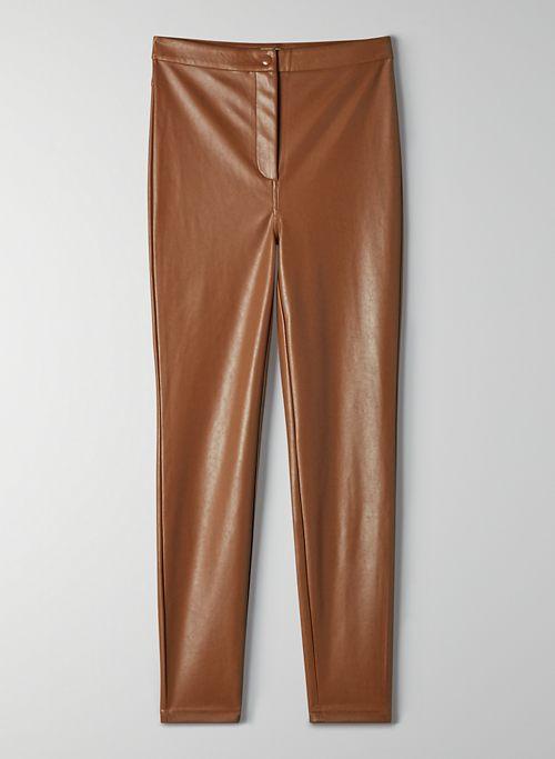 JUPITER PANT - Vegan leather legging