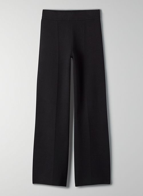 AIRLIE PANT - High-rise knit pant