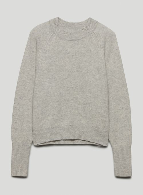 LUXE CASHMERE CLASSIC CREW - Crew-neck cashmere sweater