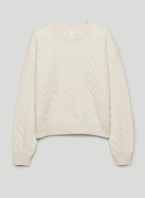 ILLUSTRATOR SWEATER - Cable-knit, crew-neck sweater