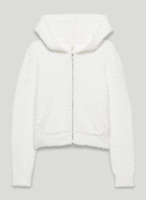 RETREAT HOODIE - Knit zip-up hoodie