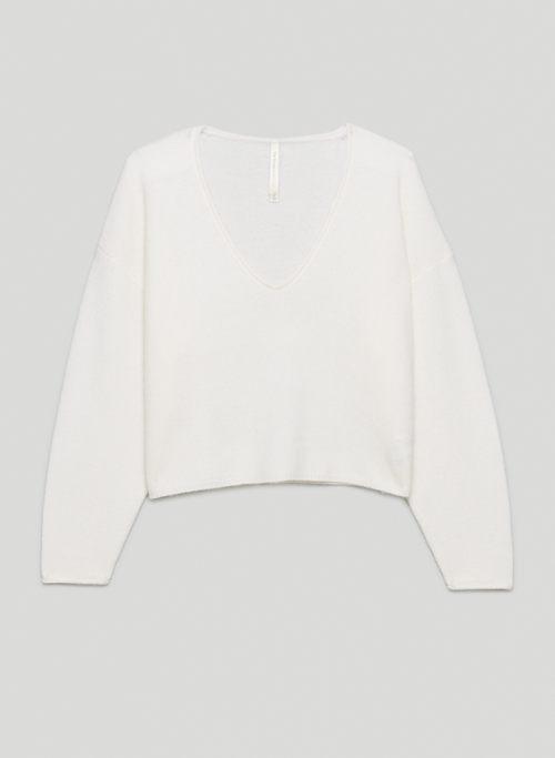 GENRE CASHMERE SWEATER - V-neck cashmere sweater