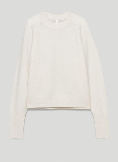 LUXE CASHMERE CLASSIC CREW - Cashmere crew-neck sweater