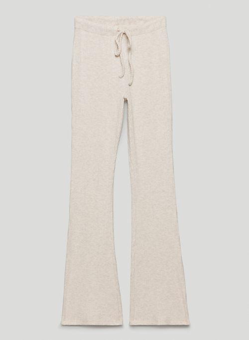 TIME PANT - High-waisted kick-flare pants