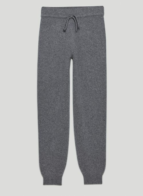 LUXE CASHMERE JOGGER - Cashmere joggers