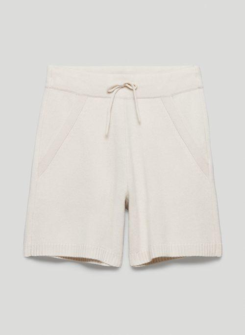HIGHLIGHT SHORT - Mid-rise wool shorts