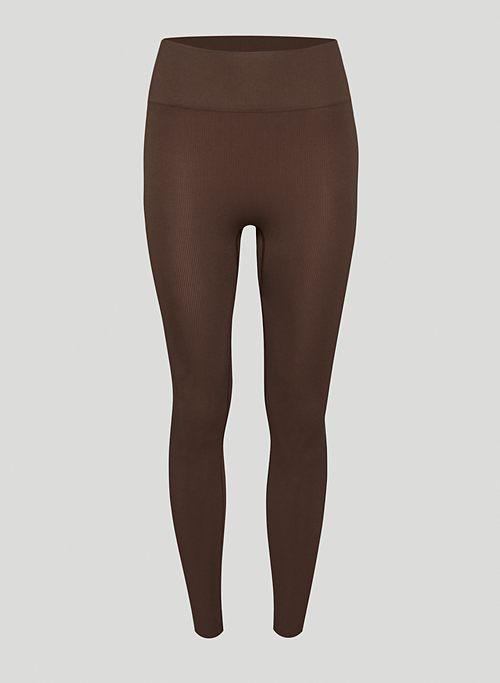 PROFILE SEAMLESS LEGGING - High-waisted, seamless ribbed leggings