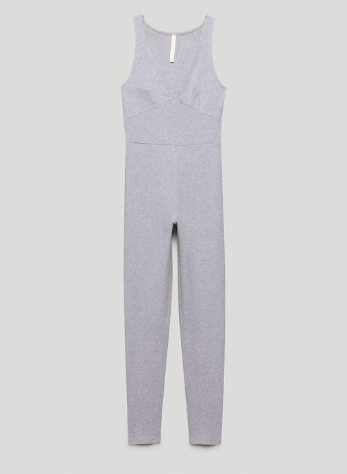 SOFT CONTOUR BUSTIER JUMPSUIT - Bustier V-neck jumpsuit