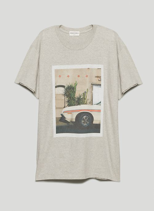 THE OLD FAVOURITE TEE - Oversized graphic crew-neck t-shirt