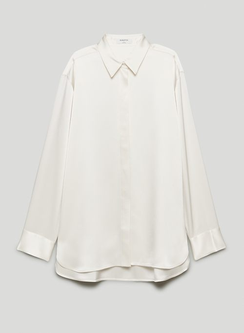 SABLE BUTTON-UP - Satin button-up blouse