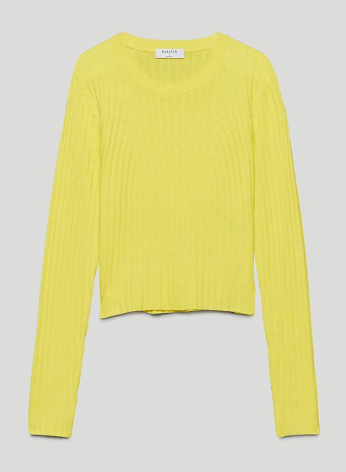 NATHANIEL SWEATER - Ribbed long-sleeve sweater