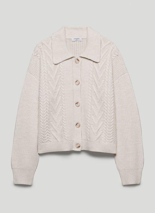 EMPORIA CARDIGAN - Merino wool cardigan