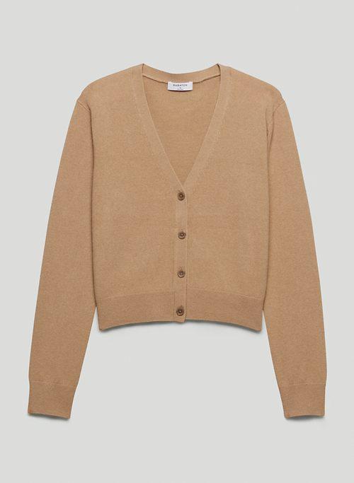 RUBY CASHMERE CARDIGAN - Cashmere V-neck cardigan