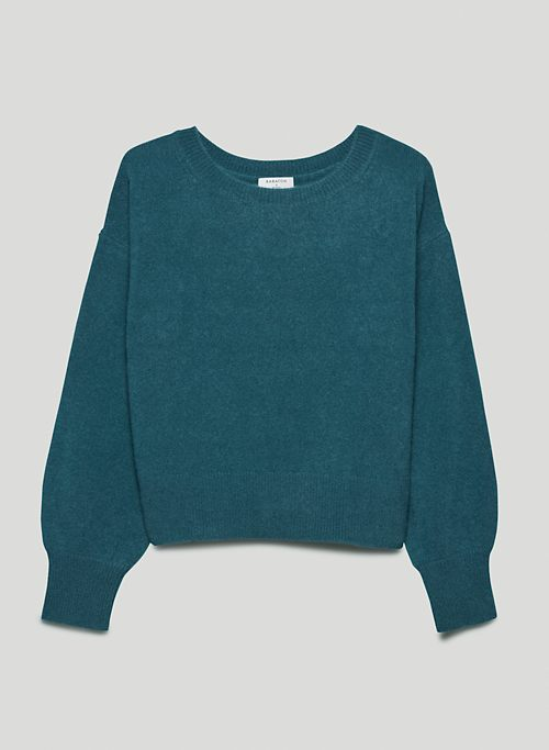 LUXE CASHMERE SESSION SWEATER - Cashmere sweater